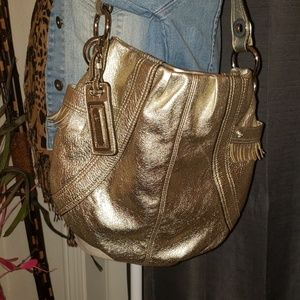 B.Makowsky Gold Purse
